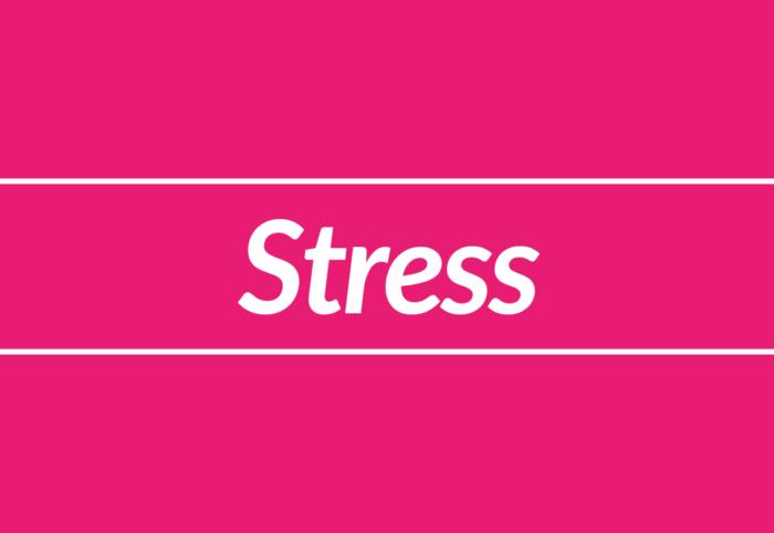 Bubbelonie column Stress